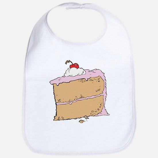 Cake or Death Bib