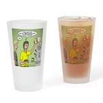 KNOTS Maple Syrup Drinking Glass