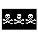 Pirate Flag of Christopher Condent Sticker