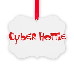 Cyber Hottie Ornament