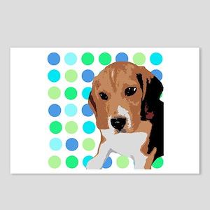 Beagle Pop Art 1 Postcards (Package of 8)