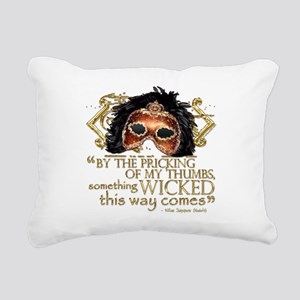 macbeth Rectangular Canvas Pillow