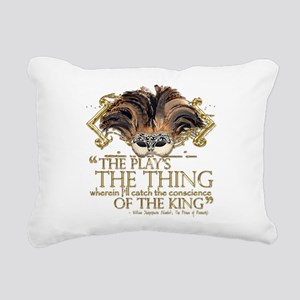 hamlet Rectangular Canvas Pillow