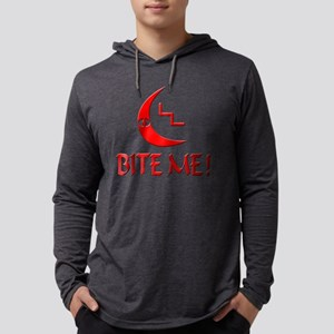 LL Tee Bite Me Mens Hooded Shirt