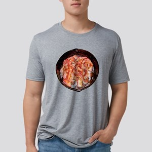 skilletObacon Mens Tri-blend T-Shirt