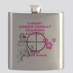 Hula Boot Camp Flask