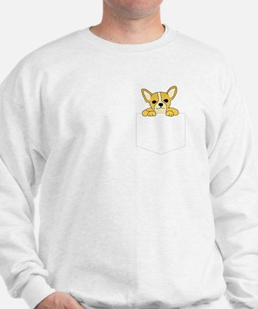 Chihuahua Pocket Pooch Sweatshirt