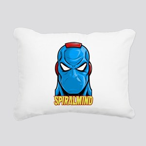 SPIRALMIND - HEAD Rectangular Canvas Pillow