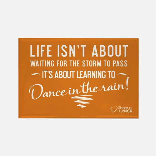 Life isn't about - Rectangle Magnet