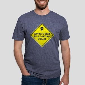 COACH_BULLFIGHTING Mens Tri-blend T-Shirt