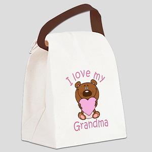 I love my Grandma Canvas Lunch Bag
