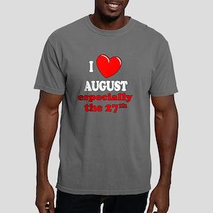 august27W Mens Comfort Colors Shirt