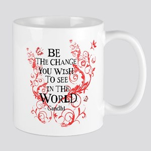 Be the Change - Red Vine Mug