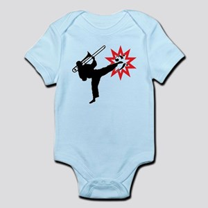 Karate and Music together in one image! Infant Bod