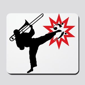 Karate and Music together in one image! Mousepad