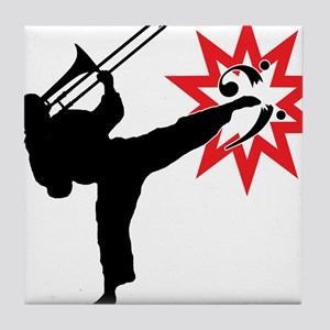 Karate and Music together in one image! Tile Coast