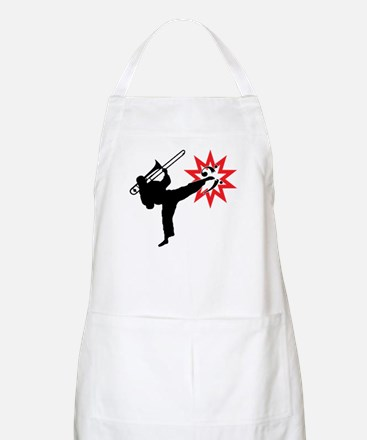 Karate and Music together in one image! Apron