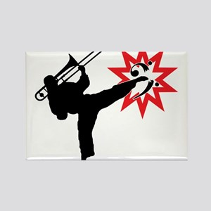 Karate and Music together in one image! Rectangle