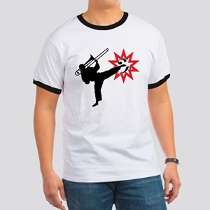 Karate and Music together in one image! Ringer T