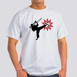 Karate and Music together in one image! Light T-Sh