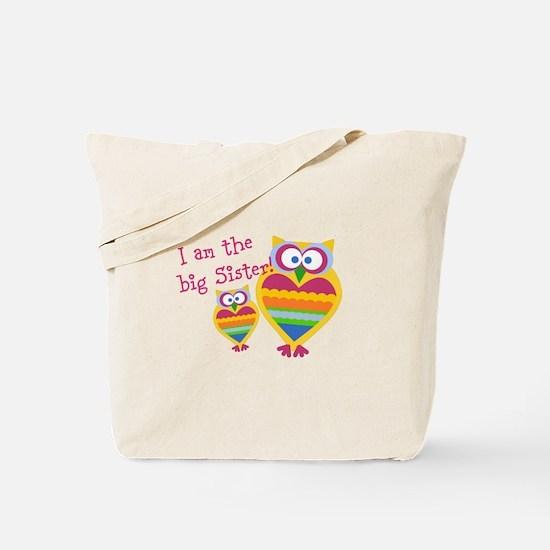 Big Sister ~Owls Tote Bag