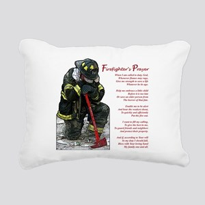 firePrayer Rectangular Canvas Pillow