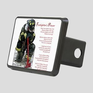 firePrayer Rectangular Hitch Cover