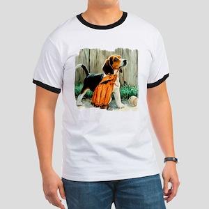 Beagle & Baseball 2 Ringer T