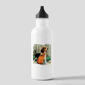 Beagle & Baseball 2 Stainless Water Bottle 1.0L