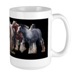 Gypsy Horse Herd Large Mug