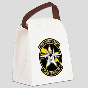 vf33logo Canvas Lunch Bag