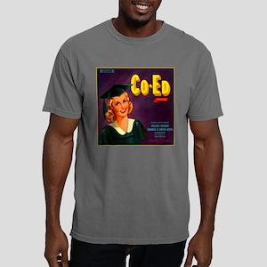 coed square Mens Comfort Colors Shirt