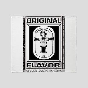 ORIGINAL FLAVOR Logowear Throw Blanket
