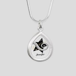 musicaldesign Silver Teardrop Necklace