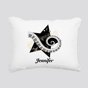 musicaldesign Rectangular Canvas Pillow