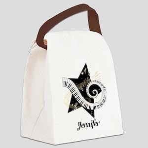musicaldesign Canvas Lunch Bag