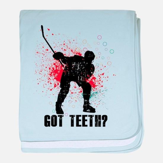 Got teeth? baby blanket
