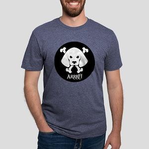 PirateDogPolo Mens Tri-blend T-Shirt