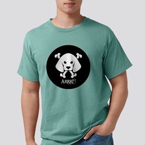 PirateDogBlackRound Mens Comfort Colors Shirt