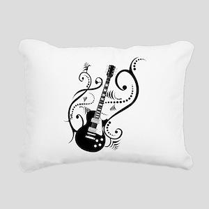 guitarwaves2 Rectangular Canvas Pillow
