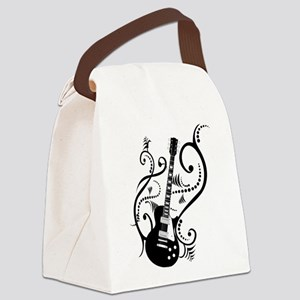 guitarwaves2 Canvas Lunch Bag
