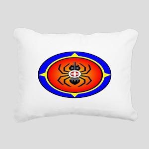 CHEROKEE WATER SPIDER Rectangular Canvas Pillow
