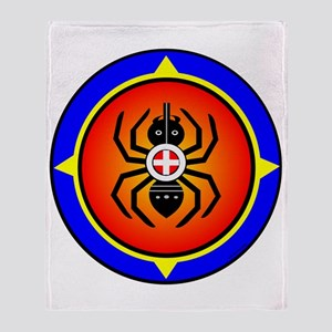 CHEROKEE WATER SPIDER Throw Blanket