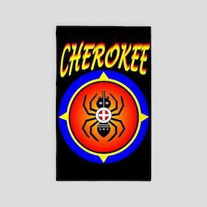 CHEROKEE WATER SPIDER 3'x5' Area Rug