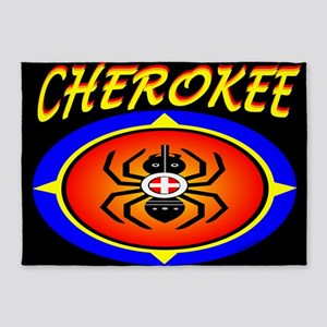 CHEROKEE WATER SPIDER 5'x7'Area Rug