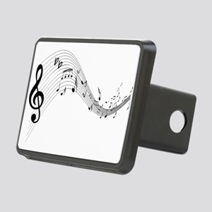 musicnotes4 Rectangular Hitch Cover
