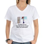Oops! Women's V-Neck T-Shirt