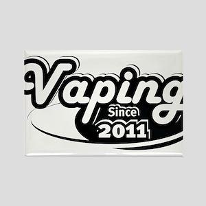 Vaping Since 2011 Rectangle Magnet