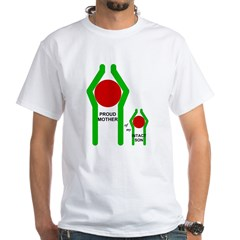 Proud Mother White T-Shirt