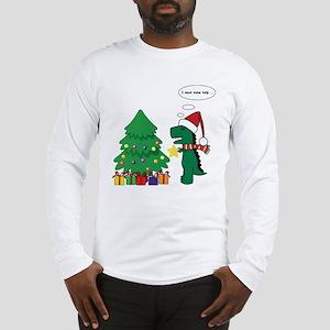 T-rex hates Christmas Long Sleeve T-Shirt